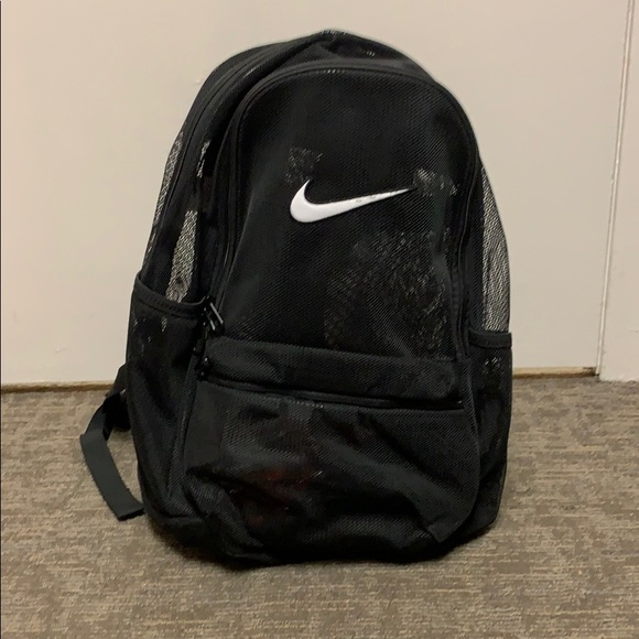 new release on feet shots of search for original Nike Brasilia Mesh Backpack NWOT